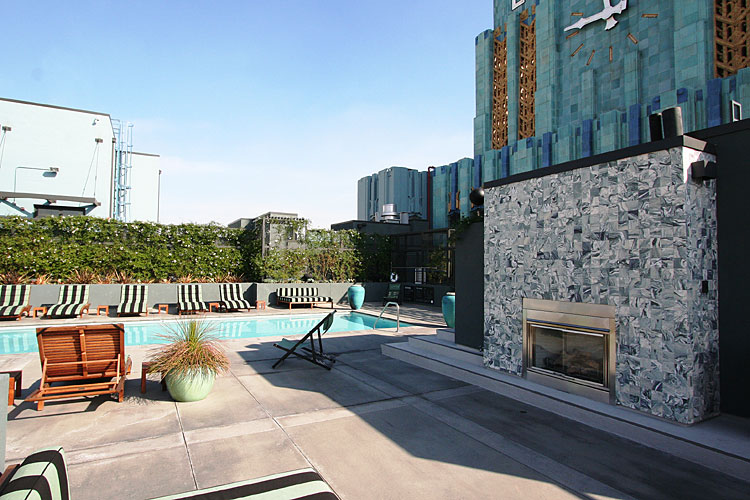 Eastern Columbia Lofts pool