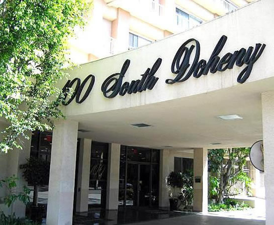 100 South Doheny Drive Condos for Sale in Beverly Hills Adjacent 90048