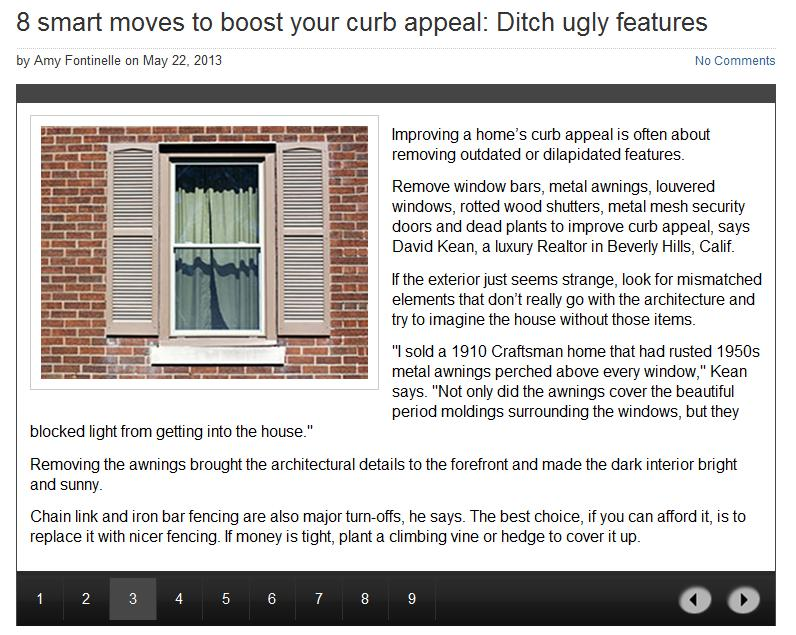 improve curb appeal by removing outdated or dilapidated features Interest.com 8 smart moves to boost your curb appeal